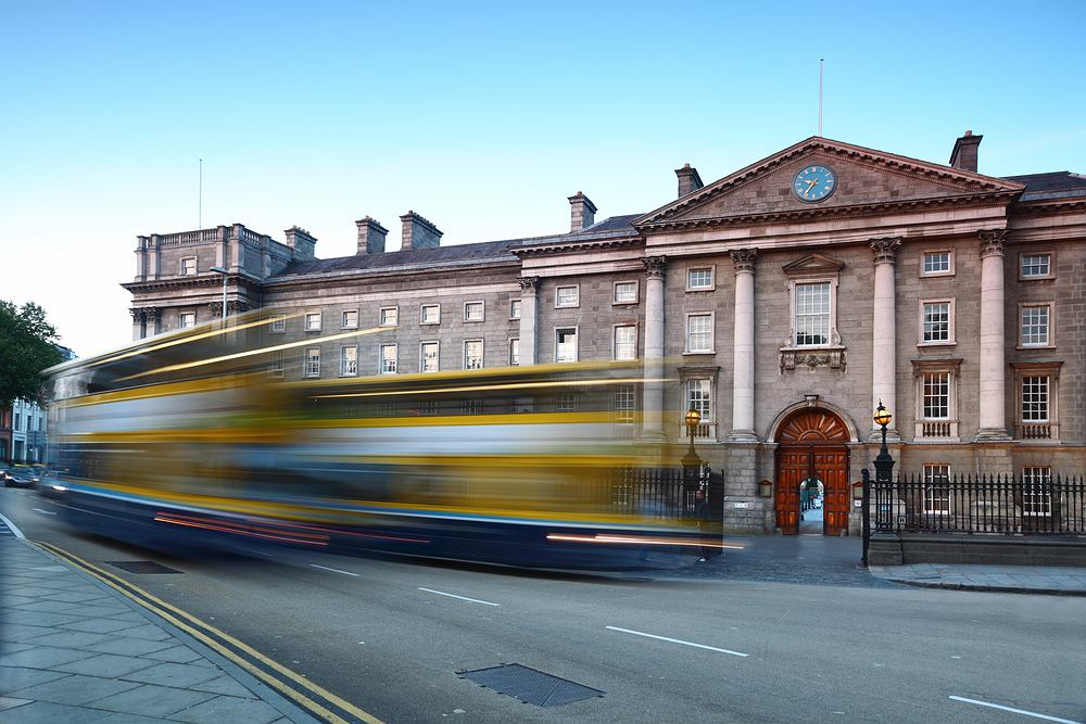Irlandia Dublin - Trinity College
