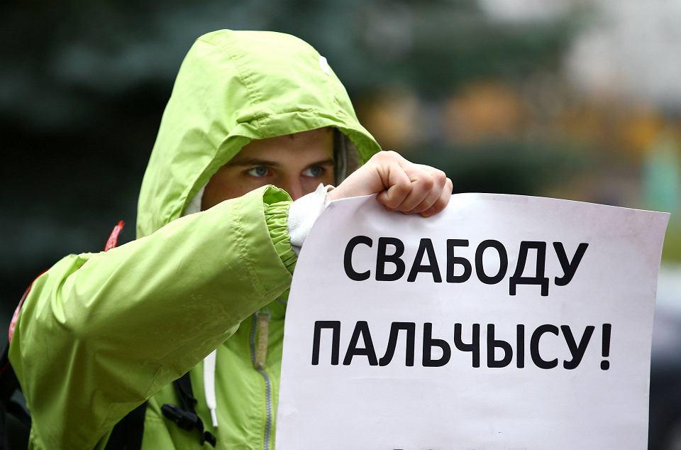Białoruski bloger stanął przed sądem za krytykę polityki Putina