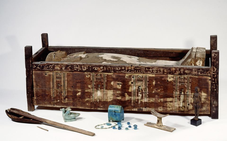 Zdjęcie numer 1 w galerii - Pierwsze geny mumii w historii