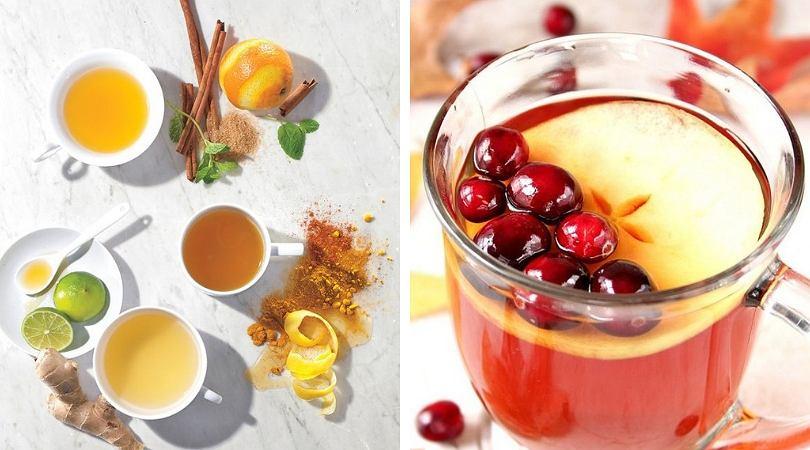 Rozgrzewające napoje jednocześnie wspierają odporność i przyspieszają spalanie tkanki tłuszczowej