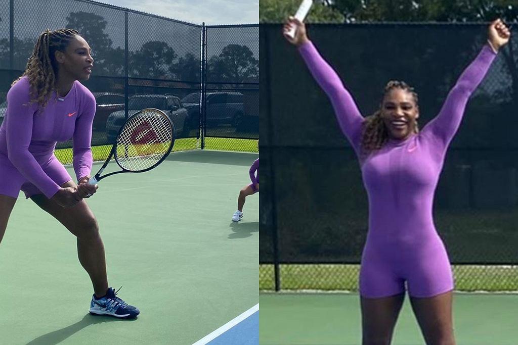 Serena Williams z córką