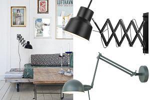 Lampy ścienne na wysięgniku - nowoczesne i w stylu retro