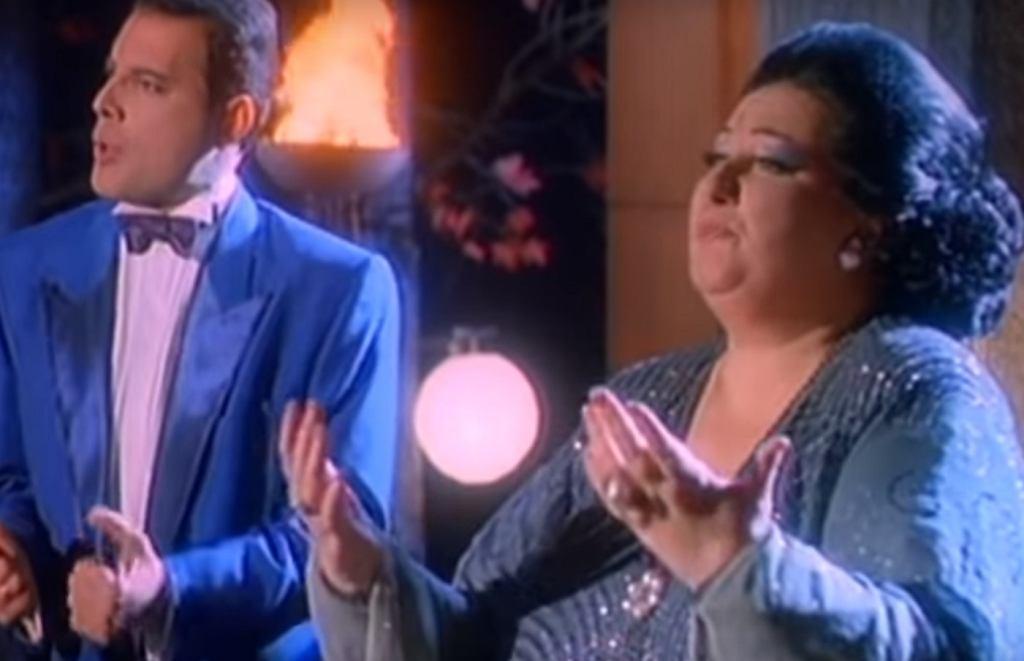 Freddie Mercury i Montserrat Caballe