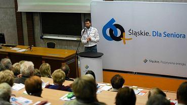 """Konferencja """"Śląskie bezpieczne dla seniora"""" w Rybniku"""