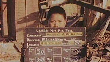 Kadr filmu wykonanego w Hiroszimie przez Amerykanów