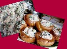 Sałatka z tuńczyka, oliwkami i fetą w puddingowych babeczkach - ugotuj
