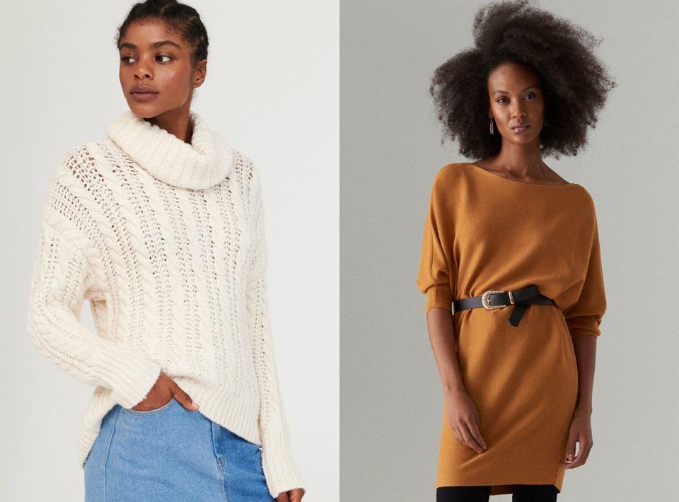 Swetry z jesiennych kolekcji