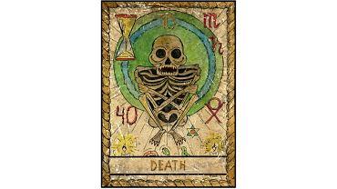 Karta tarota - 13 śmierć