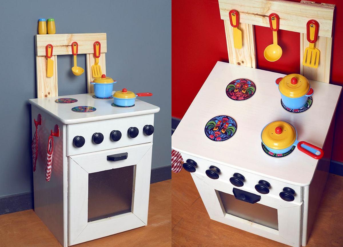 Kuchnia Drewniana Dla Dzieci Zrob To Sam