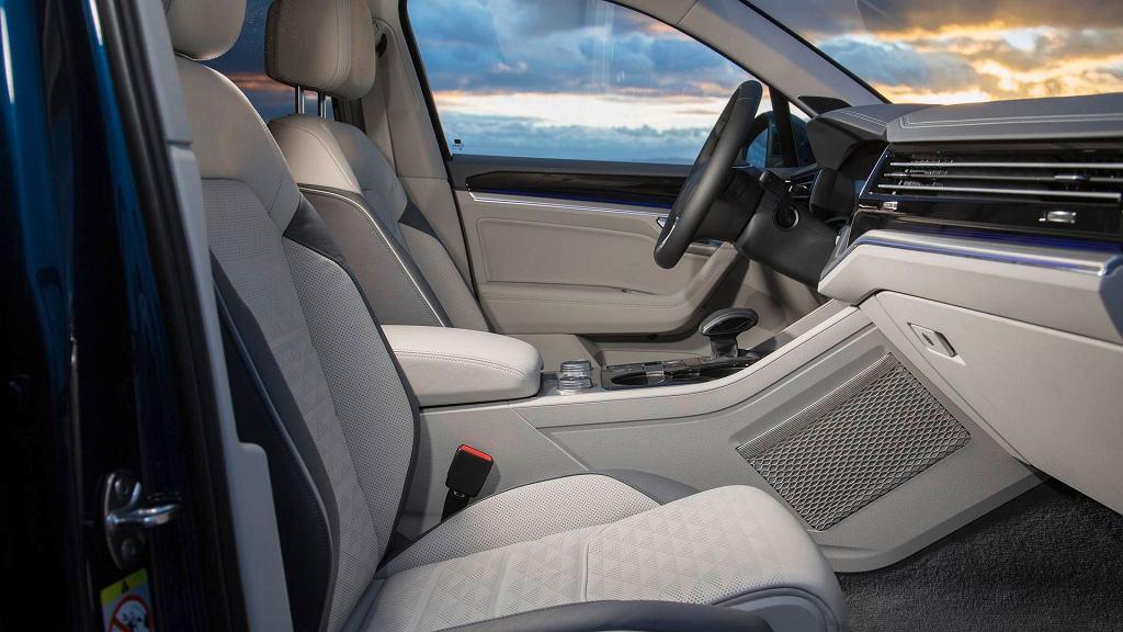 Nowy Volkswagen Touareg (teaser)