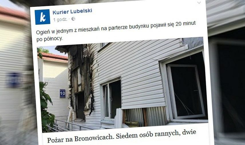 Wybuch gazu w Lublinie