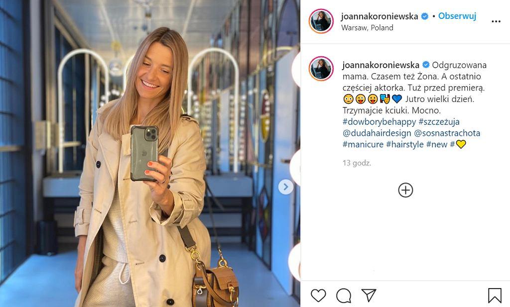 Joanna Koroniewska w modnych botkach