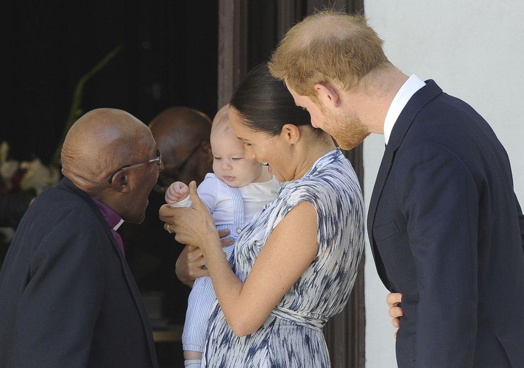 Meghan Markle, książę Harry i Archie w Afryce