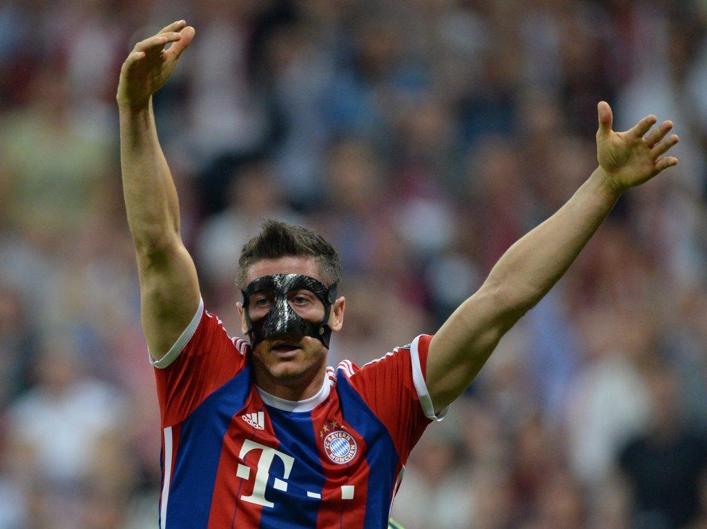Bayern Monachium - FC Barcelona. Robert Lewandowski