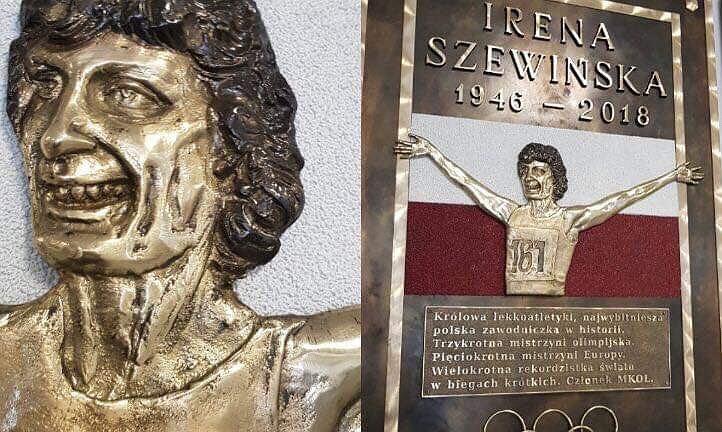 Zdumiewająca tablica Ireny Szewińskiej w podwarszawskiej szkole