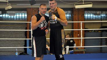 Wiaczesław Głazkow i Mariusz Wach
