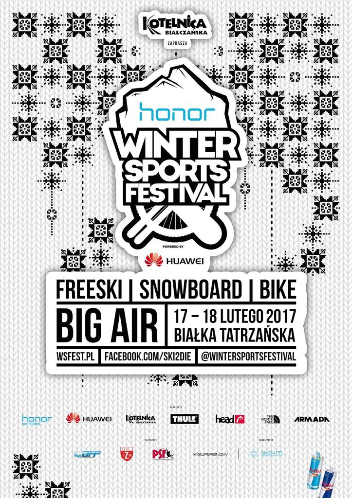 Oficjalny plakat Winter Sports Festival 2017