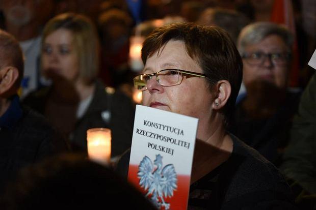 Protest w obronie sądów we Wrocławiu