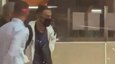 Sergino Dest nagrany na lotnisku w Barcelonie