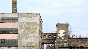 Opuszczona fabryka w Dzierżyńsku, 2018 rok