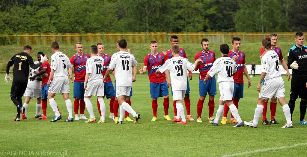 Mecz Rozwój Katowice - Raków Częstochowa 1:1