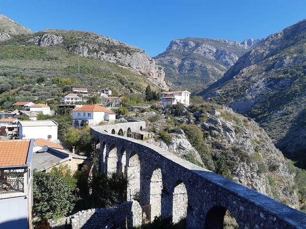 Stari Bar i jedyny do dziś zachowany w Czarnogórze akwedukt
