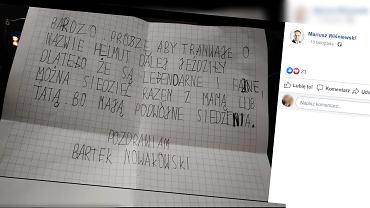 Dziecko napisało list do władz miasta