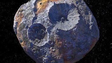 """Naukowcy odkryli rdzewienie """"metalowej"""" asteroidy. Kiedyś mogła stać się jedną z planet Układu Słonecznego"""