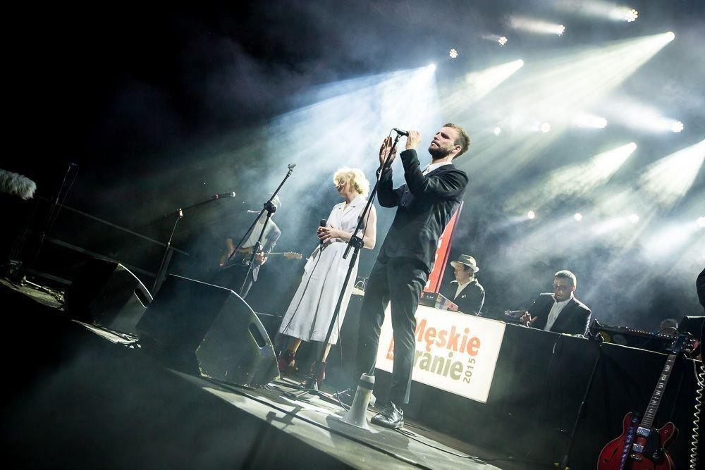 Męskie Granie 2015 - koncert promujący singiel