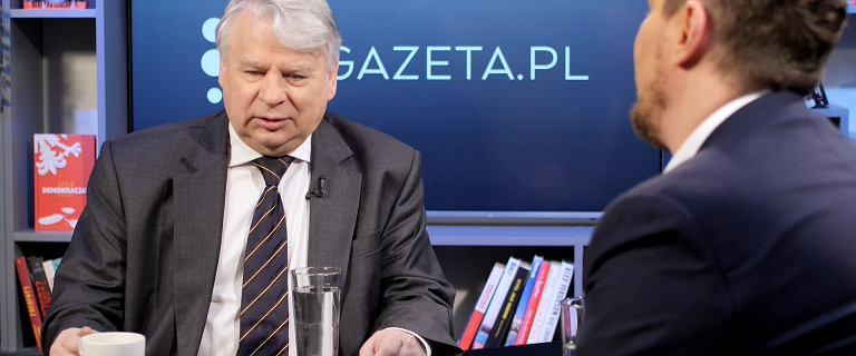 Bogdan Borusewicz gościem poranka Gazeta.pl. ''To był mord polityczny''