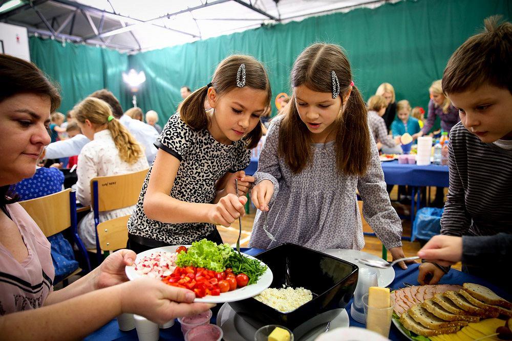 Dzieciaki wiedzą, że śniadanie daje moc!