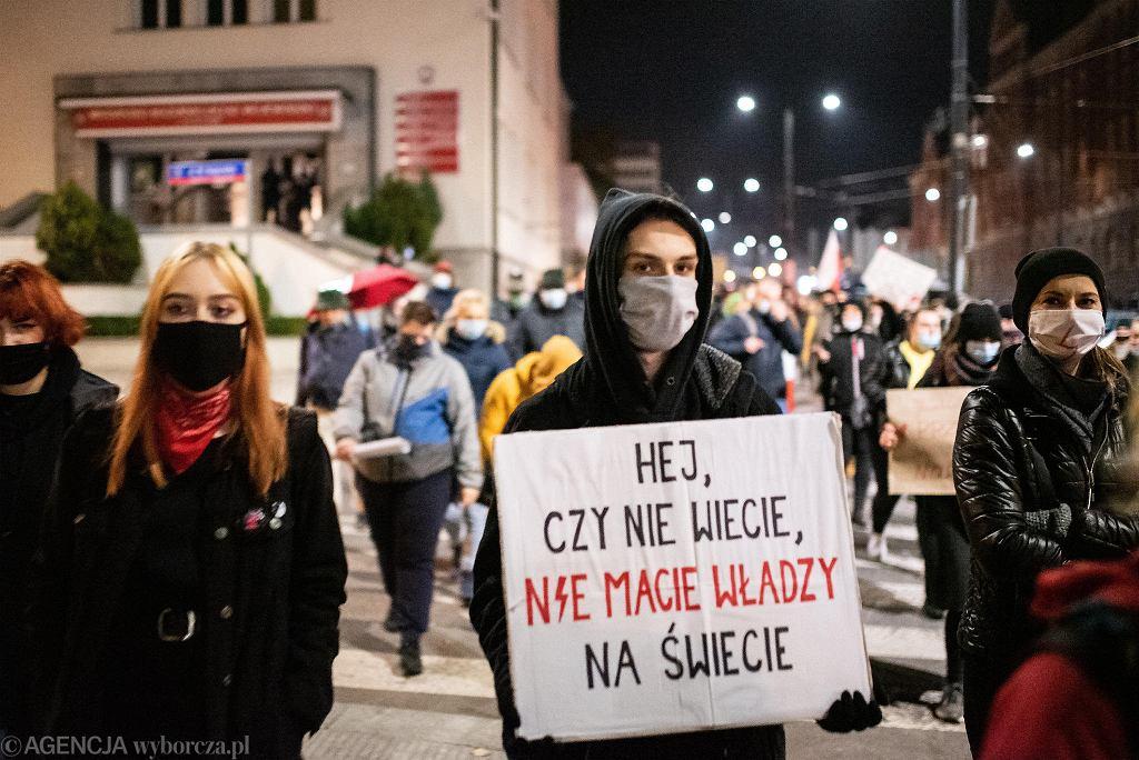 Strajk Kobiet w Olsztynie, 4 listopada 2020