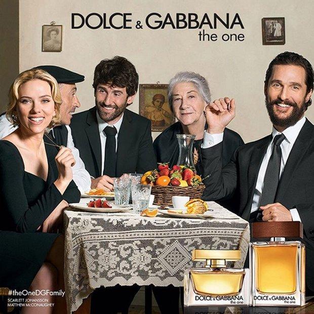 Scarlett Johansson i  Matthew McConaughey dla Dolce & Gabbana