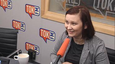 Paulina Piechna-Więckiewicz w TOK FM