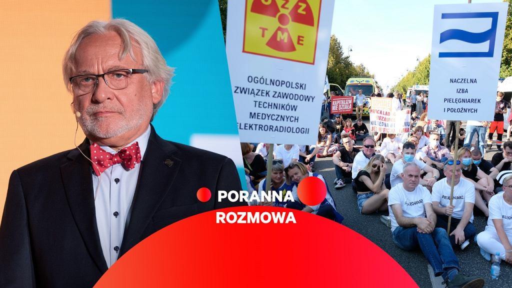 Prof. Wojciech Maksymowicz gościem Porannej Rozmowy Gazeta.pl