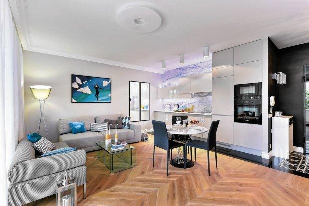 Eleganckie mieszkanie zaprojektowane dla mężczyzny