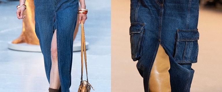 Spódnice z tego materiału są ponadczasowe i możesz nosić je o każdej porze roku! Wybieramy najpiękniejsze modele z wyprzedaży