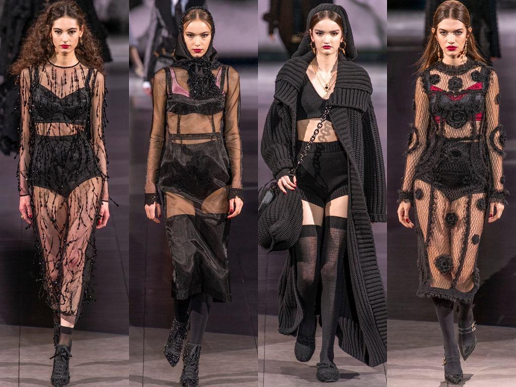 majtki z wysokim stanem Dolce&Gabbana AW2020/21