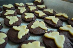 Ciastka czekoladowo-migdałowe