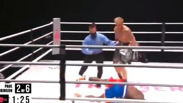 Były koszykarz NBA Nate Robinson został znokautowany przez Youtubera Jake'a Paula