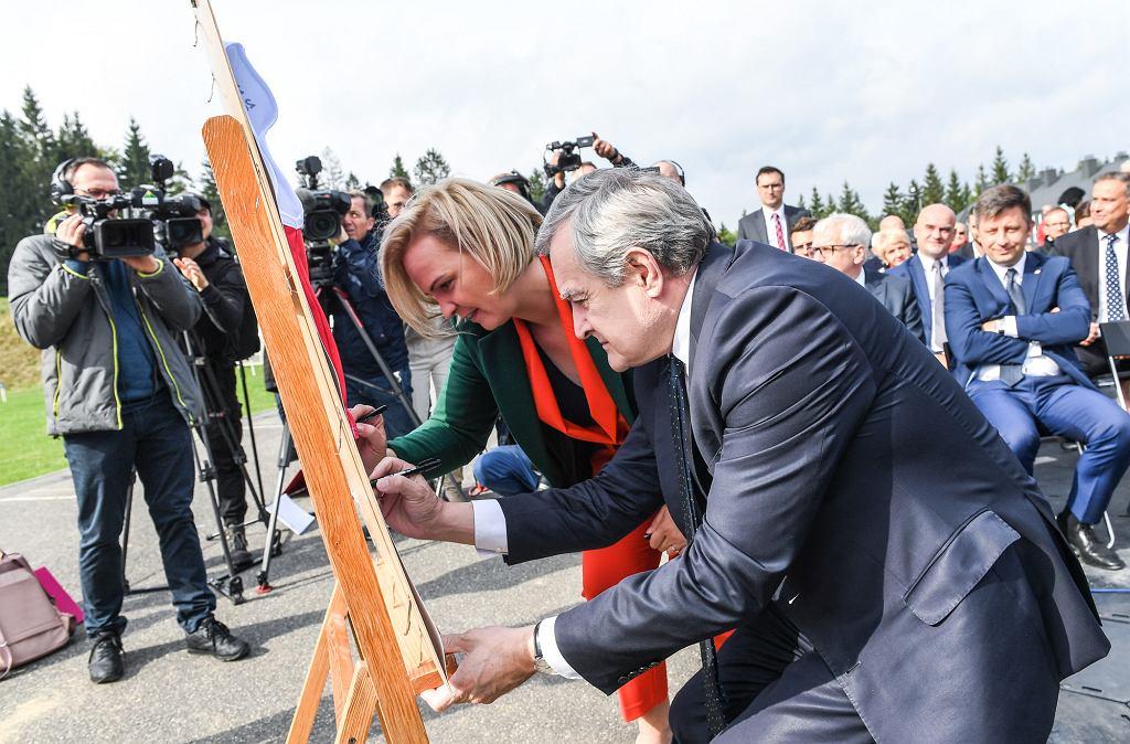 Otwarcie 1. toru bobslejowego w Polsce