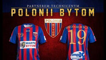 Nowa koszulka Polonii Bytom