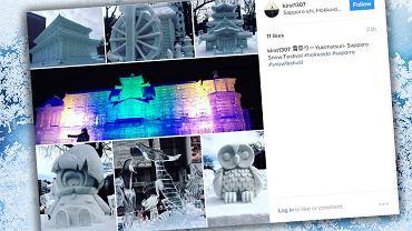 Festiwal śniegu w Sapporo co roku przyciąga tysiące turystów z całego świata