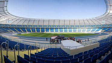 Stadion Śląski tuż przed otwarciem