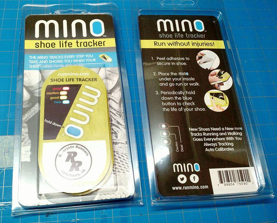 MINO - 'licznik' do butów biegowych