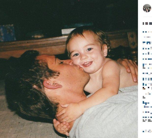 Paul Walker z córką Meadow