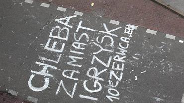 Chleba zamiast igrzysk - to protest anarchistów przeciwko Euro