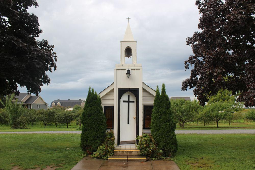 Living Water Wayside Chapel. Zdjęcie ilustracyjne