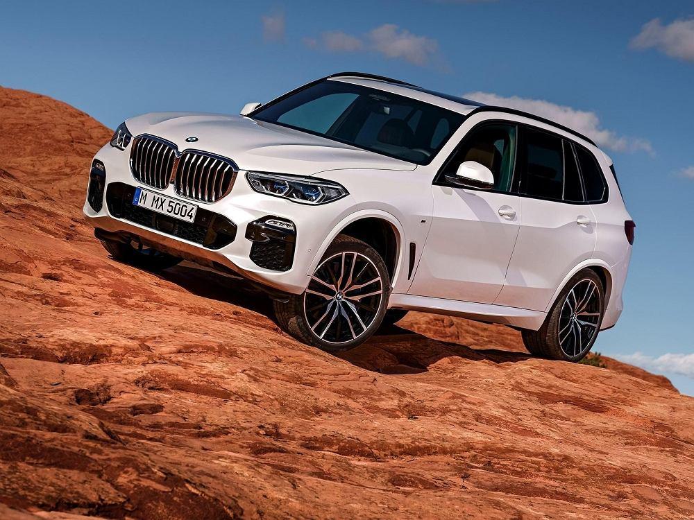 Nowe BMW X5