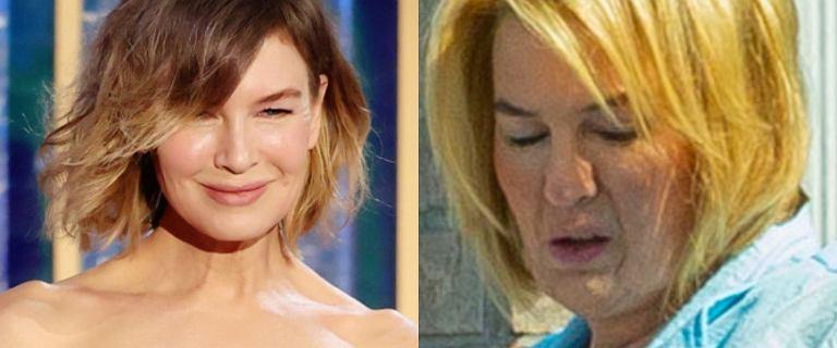 Wyciekły najnowsze zdjęcia Renée Zellweger. Aktorka nie przypomina samej siebie!
